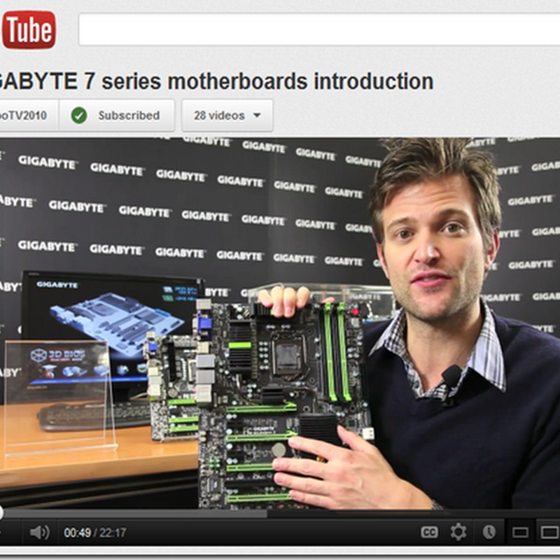 Video intro to the GIGABYTE 7 series mobos for new 3rd gen Intel Core CPUs