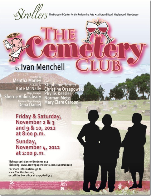 Cemetery Club e-flyer