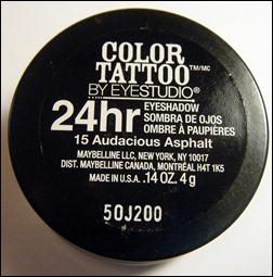 Maybelline Audacious Asphalt Color Tattoo