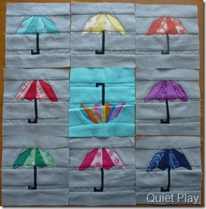 Shower of Umbrellas