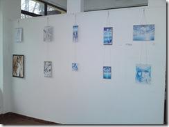 Desene inspirate din poeziile lui Mihai Eminescu la expozitia Univers Eminescian galeria AAP Herastrau ianuarie 2013