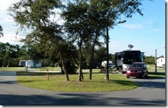 Cedar Key RV Resort site 55-CK FL