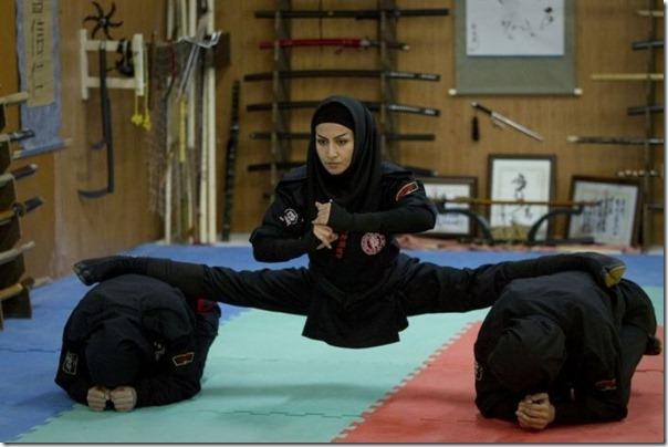 Mulheres iraquianas ninjas (13)