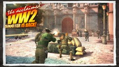 لعبة الحرب العالمية الثانية Brothers in Arms® 3 بمعارك واقعية