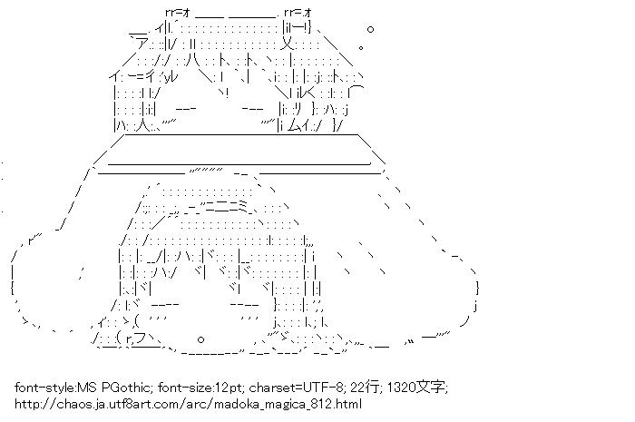 [AA]鹿目まどか & 暁美ほむら こたつ (魔法少女まどか☆マギカ)