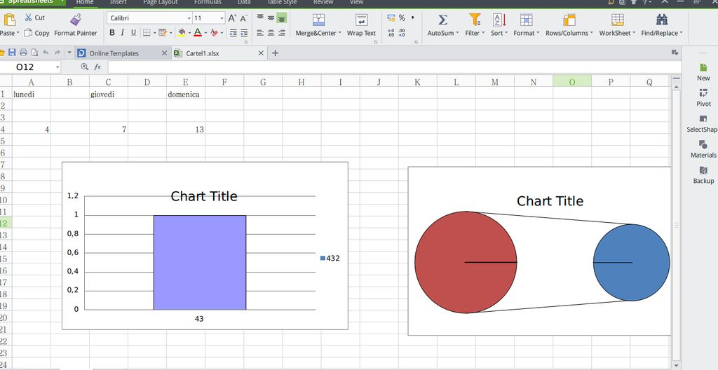 Kingsoft Office Spreadsheets