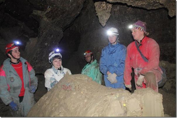 Екскурсія в печеру Оптимістична