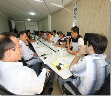foto reunião escala