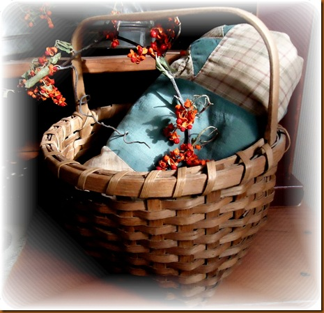 Basket and Bittersweet