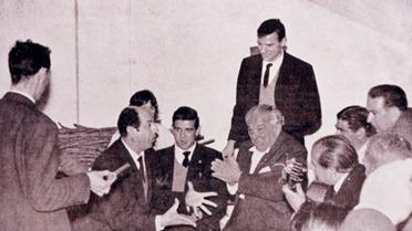 1965-00-00 Antonio Mairena, Juan Talega, Chico Melchor en