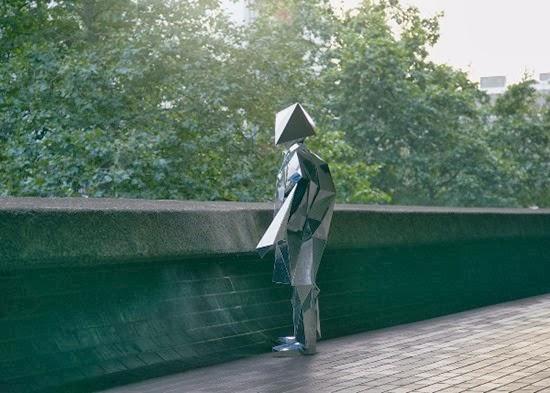 Carl O Robô espelho solitário 02