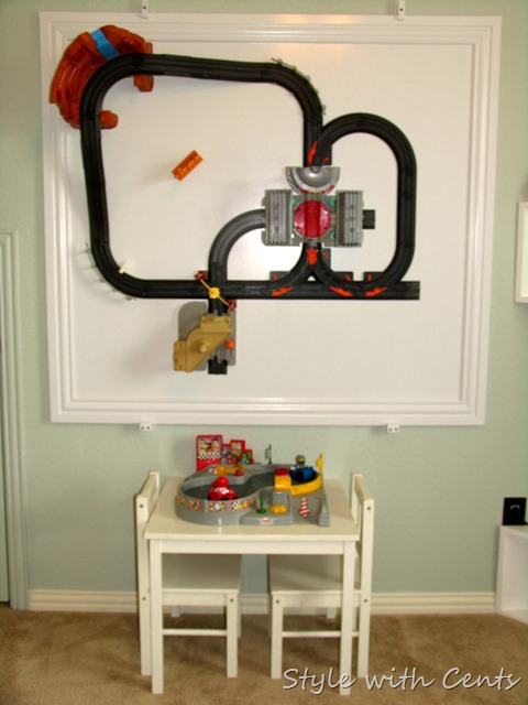 Creating an Inexpensive Playroom from Style with Cents www.stylewithcents.blogspot.com 12