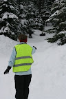 Adults are asked to volunteer as a Hill Safety Officer for an hour or so during their stay - to help keep everyone safe