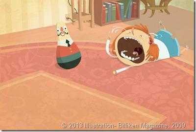 rabieta verrinche Illustration- Billiken Magazine, 2009