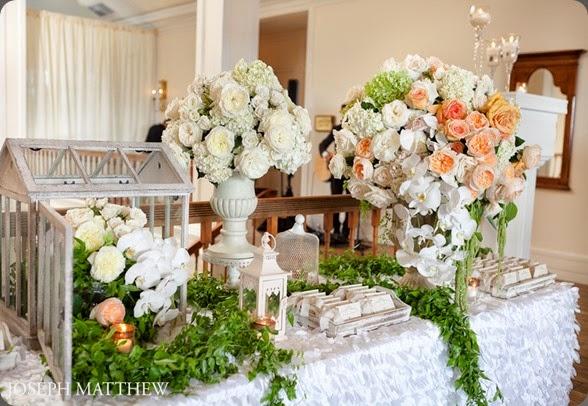 escort table garden-vine-david-austin-wedding aileen tran for karen tran