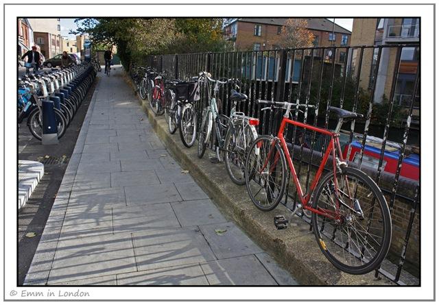 Cycles in Hackney