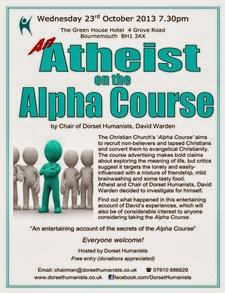 Atheist on Alpha Course