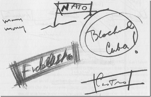 JFK doodle