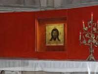 2014.09.10-015 icône de la sainte Face dans la cathédrale Notre-Dame