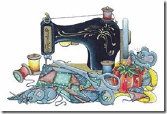 Clipart sewing mach 1