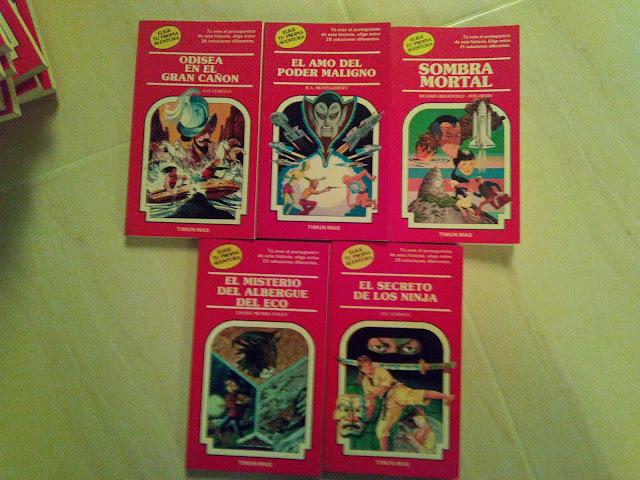 Y otras portadas más que chula de la colección