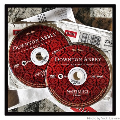 Downton DVDs