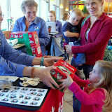 WBFJ - Operation Christmas Child Shoebox Dropoff - Chick-fil-A - Peters Crk Pkwy - Winston-Salem - 1