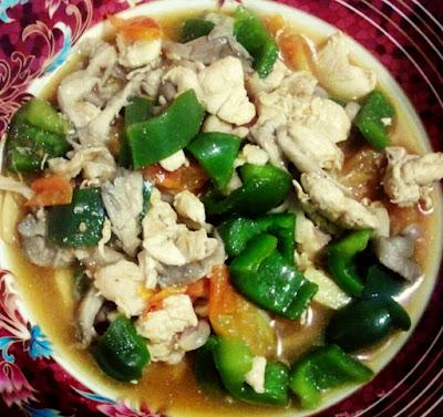 Ayam Masak Halia versi Umi