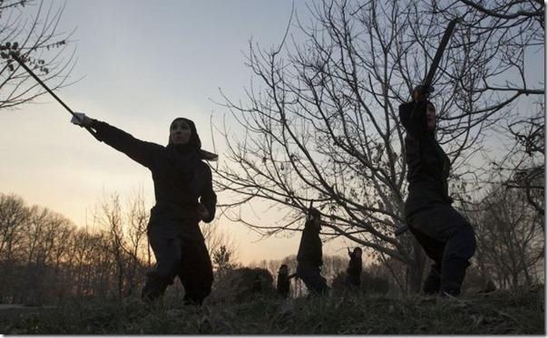 Mulheres iraquianas ninjas (10)