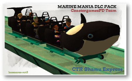 CTR Shamu Express in Marine Mania Pack (CoastergamesPD Team) lassoares-rct3