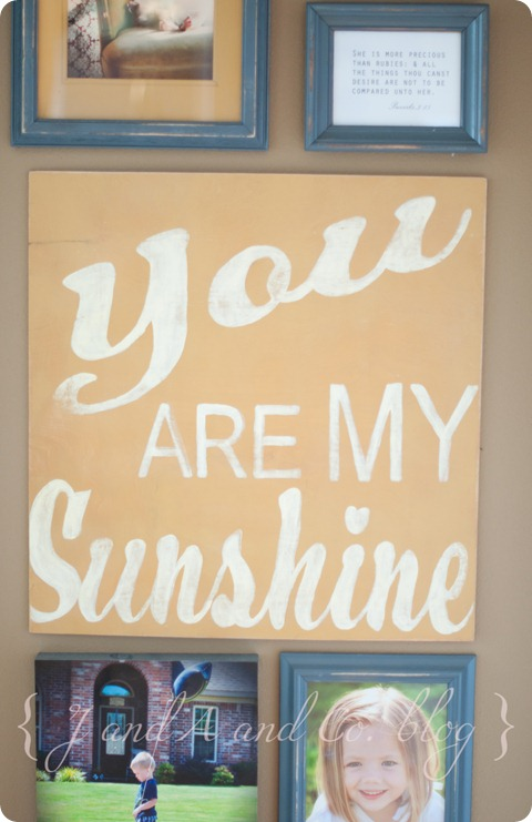 Sunshine photo wall-10