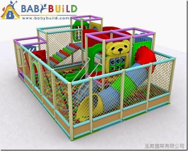 BabyBuild 室內兒童遊戲樂園3D泡棉鋼管規劃