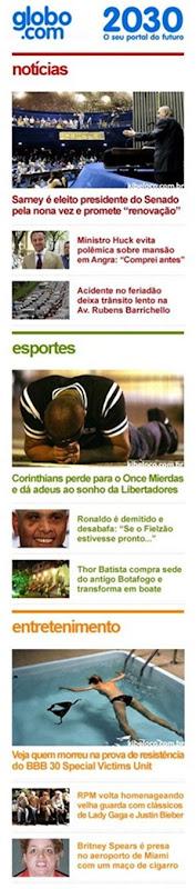 Globo 2030 2
