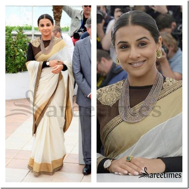 Vidya_Balan_White_Saree