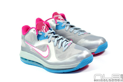 lebron9 low fireberry 05 web white The Showcase: Nike LeBron 9 Low WBF London Fireberry