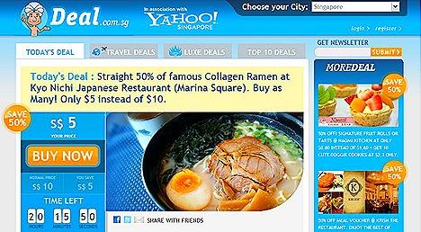 Deal.Com.Sg Ramen S$5