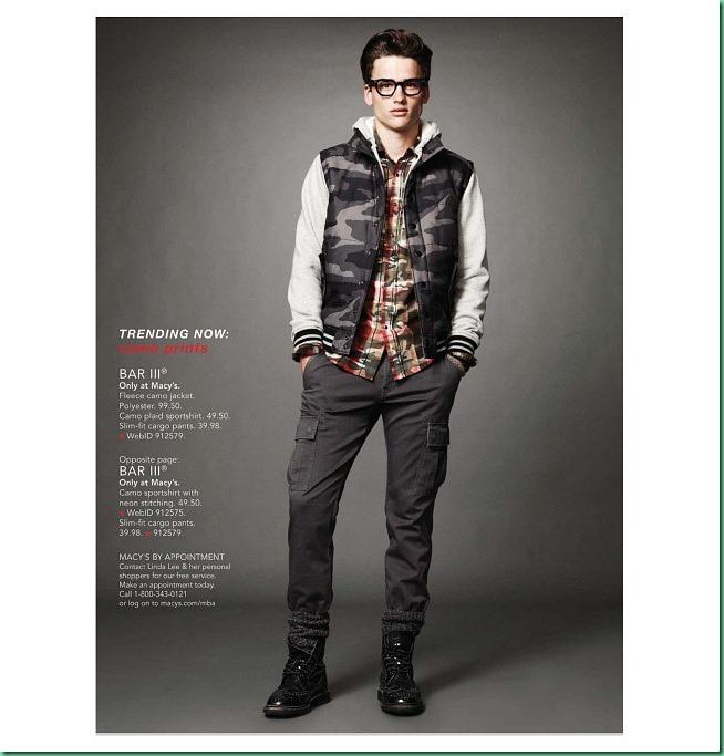 Simon Nessman for Macy's Fall/Winter 2013