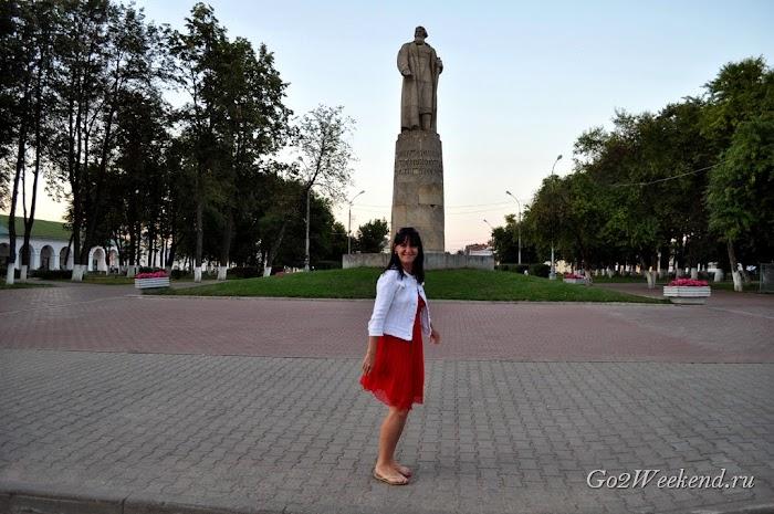 Kostroma памятник Сусанину