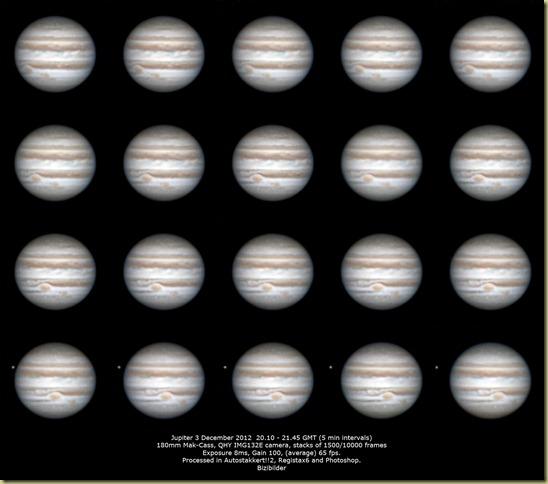 3 December 2012 Jupiter