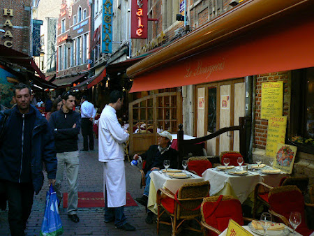 Brussels: sea food street