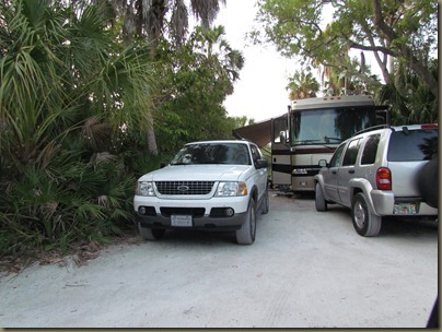Fort Desoto campsites, site 185