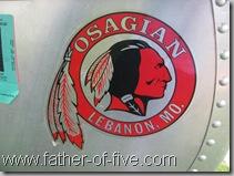 Osagian Canoe Logo