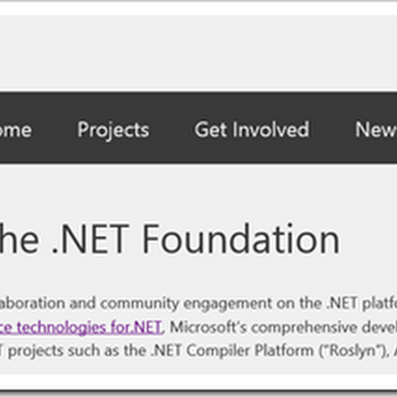 Want to help drive .NET forward? Here's your call to action and comment...
