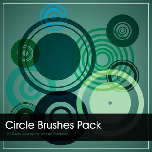 Círculos Brush pack