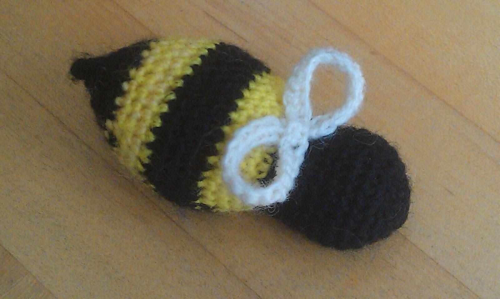 ChemKnits: Bumble Bee Buddy Crochet Pattern