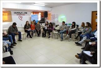Se llevó a cabo una jornada juvenil sobre temáticas laborales