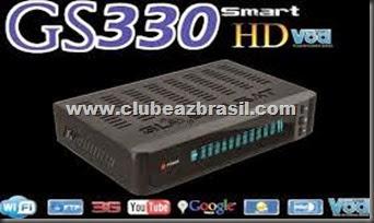 GLOBALSAT GS 330 HD VFD VOD LANÇAMENTO