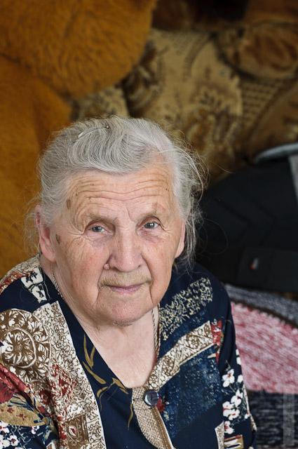 9. Анастасия Никаноровна Замулко. Мозырь. 2011 г.