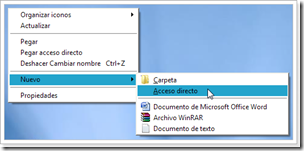 Crear acceso directo para cancelar apagado del PC