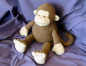 MONKEY-stuffed-toy-pattern
